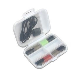 2019 пластиковые картриджи Ящик для хранения нулевого картриджа RELX MT электронная сигарета одноразовый картридж для хранения PHIX пластиковый жесткий портсигар vtv дешево пластиковые картриджи