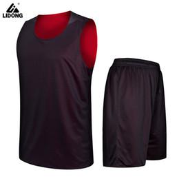 2019 New 2018 New Kids boys Double-sided Basketball Jersey Uniforms Child Sports  clothing Boys Girls basketball shorts shirts sets DIY b2ab9347b