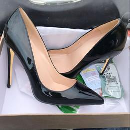 Spitzenschuhe online-Herbst hochhackige Schuhe mit dünnen Absätzen 2019 neue nackte Mode Baitie Schuhe weibliche Herbst Sexy Lack Spitze einzelne Schuhe weiblich