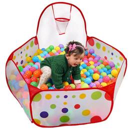 tende da gioco indoor per bambini Sconti Portable bambini I bambini Palla Pit Pool tenda del gioco per il bambino Gioco da Interni giocattolo esterno