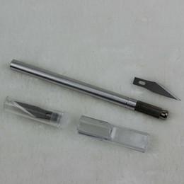 Deutschland Freies Verschiffen Leder Handwerk Werkzeuge Meißel Gravierte messer Klinge Folienschneider Stift Graveur Cutter Graver Carving Messer Versorgung