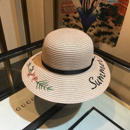 2019 acqua di erba Cappello di paglia elegante di temperamento di tessitura dell'erba dell'acqua di cappello del cappello del parasole di grande cappello di paglia del cappello del parasole acqua di erba economici