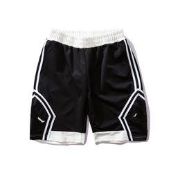 Argentina Pantalones cortos de diseñador Pantalones cortos de baloncesto Pantalones cortos para hombre para el deporte Nueva marca Pantalones Moda Marea Jogger Cabra Hombres Tiro negro y blanco supplier sport short pant white men Suministro