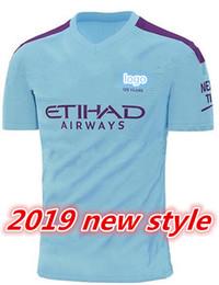 Nueva camiseta de fútbol de inglaterra online-Nueva calidad de Tailandia 2019 2020 nueva temporada MAHREZ KUNAGUERO Camiseta de entrenamiento de la camiseta Socce 19 20 Superliga de fútbol de Inglaterra Camisetas de fútbol