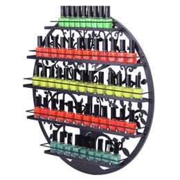 2019 lanterna clara Sorbus Montado Na Parede Prego Polonês Organizador de Exibição de 5 Camadas De Metal Circular Rack De Parede Titular Silhueta Da Árvore de Metal Rodada Salão De Arte Da Parede de Exibição