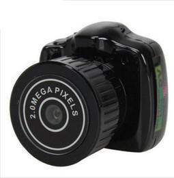 cámaras de seguridad audio video Rebajas Mini Cámara HD Video Audio Grabadora Webcam Y2000 Videocámara DV Pequeña DVR Secreto de Seguridad Niñera Coche Deporte Micro Cam con Mic STY160