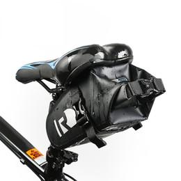 Серия Полный водонепроницаемый велосипед Велоспорт сумка Полный водонепроницаемый ПВХ Аксессуары сзади Tail Saddle Bag Black от Поставщики руководство по инструментам