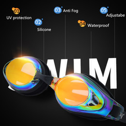 84b0ea6717b 361 Swim Goggles Adult Pool Anti Fog Prescription Swimming Glasses Myopia  Swimming Goggles Mirrored Professional Swim Glasses