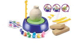 Pädagogisches Do Art Pottery Studio Wachsen Sie heran und lernen Sie die Spielzeuge, die von ihrem eigenen Keramik-Kind handgefertigt werden von Fabrikanten