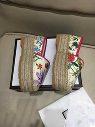 2020 prateleira de sapato sapatos pescador nova prateleiras luxo designer bolo retro esponja corda de cânhamo estilo nacional casuais grossa com solado de sapatos artesanais 35-40 desconto prateleira de sapato