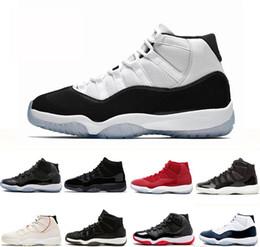 2019 barra de tênis nike air jordan 11 AJ 11  matiz boné e vestido de homens de basquete sapatos de ginástica red bares bar espaço 11 mens sports sneakers designer formadores desconto barra de tênis