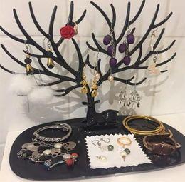2019 hirsche steht Hirsch Ankle Stand Display Halter Show Rack Display Halskette Organizer Jwelry Organizer Rosa Weiß und Schwarz rabatt hirsche steht