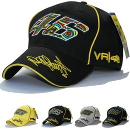 vr 46 hat Rebajas Nuevo diseño F1 Racing Cap Car Motocycle Racing MOTO GP VR 46 Rossi Bordado Sport Hiphop Cotton Trucker Gorra de béisbol Sombrero