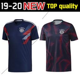 2019 polo sport blue 2019 Bayern Munich Polo camisetas Soccer Jersey 19/20 Bayern Blue Fútbol Camiseta de manga corta Uniformes de fútbol Camiseta deportiva Ventas polo sport blue baratos