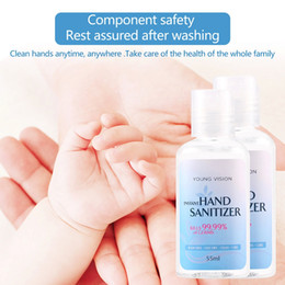 2019 spray nano argent 32/5000 50 gel de désinfection ML gel de savon jetable désinfection portable désinfectant antibactérien pour les mains déshydraté rapidement sécher