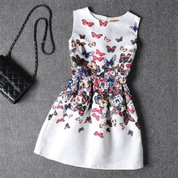 b8c549e49c7f Fashion Party Girl Dress Casual Toddler O-neck Children Clothing Princess  Sleeveless Kids Clothes Infantil Baby Summer Dresses