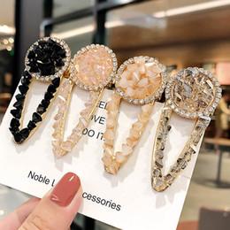 cheer bows schwarz Rabatt Ins Mode Kristall Mädchen Haarspangen Boutique Designer Haarspangen Frauen Prinzessin Designer Haarschmuck für Frauen BB Clips A6943
