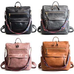 grandi borse a tracolla per le ragazze Sconti Big Girls Fashion PU zaino borsa bookbag impermeabile Crossbody spalla in pelle Grande borsa multifunzione sacchetto di scuola Zaini M899
