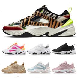 zapatillas de deporte de la impresión del leopardo de las mujeres Rebajas 2019 Monarch M2K Tekno SP Animal Print Leopard Grain Phantom NASA Rosa Zapatillas de running para hombre Mujer Zapatos deportivos Zapatillas de deporte de diseño Tamaño 36-45
