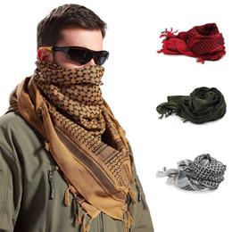 arabischer schal hijab Rabatt 1 pvs Thick Muslim Hijab Shemagh Tactical Desert Arab Schals Männer Frauen Winter Windy Windproof Wandern Schal