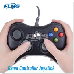 Controlador de juegos usb xbox online-Gamepad USB Controlador de juegos con cable Gamepad Joypad Joystick para Xbox 360 Slim accesorio PC DHL Envío gratis Fedex