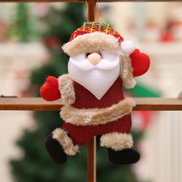 Noel Noel Ağacı Aksesuarları Noel Bebek Dans Yaşlı Adam Küçük Bebek Ayı Bez Bebek Asılı Hediyeler nereden