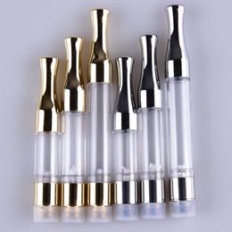 cartomizer für e zigarette Rabatt G2 Zerstäuber 510 Patronen Gold Splitter 0,5 ML 1 ML Vape Patronen CE3 O Pen Dampf Mini Cartomizers E Zigarettenpatronen