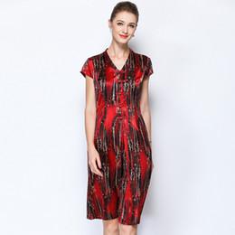1c36edc0a74 red floral silk plus size summer dress robe vintage rockabilly dames 2019  summer women t unique fem me maxi long retro slim fit discount fitted  floral maxi ...