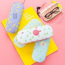 2019 новые защитные очки Практичные свежие фрукты шаблон солнцезащитные очки коробки для студентов устойчивы к сжатию организатор хранения миопические очки коробка новый 3 5bx BB скидка новые защитные очки
