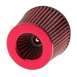 kit de filtro de admissão de ar Desconto Filtro de Ar de 75mm Cabeça de Cogumelo Kit de Indução de Admissão de Alto Fluxo de Admissão de Cabeça Modificação Do Carro Filtro de Alimentação de Ar