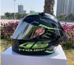 Motocicleta de pintura de carreras online-Carbón de la alta calidad de la pintura de la cara llena casco de la motocicleta que compite con cascos de motocross Moto Off Road Kask Motociclista aprobado por el DOT