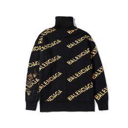 Мужские трикотажные свитера из черепахи онлайн-Мужской свитер хорошего качества теплый стоячий воротник черепаха шею свитера ручной вязки Hole Модная мужская одежда азиатского размера M-XXL