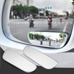 2019 autospiegel für blinde flecken 2 stücke 360 Grad Einstellbar Glas Rahmenlose Rückspiegel Umkehr Weitwinkel Hilfs Blinden Fleck Spiegel günstig autospiegel für blinde flecken