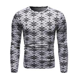 Fashion 3D Printed Round Neck Long Sleeve Grey Sweatshirt