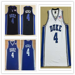 0c331622f4d custom made Duke Blue Devils  4 JJ REDICK college man women youth basketball  jerseys size S-5XL any name number sport jersey basketball jersey numbers  ...
