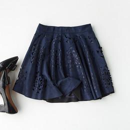 51a4ff9c29 2019 nuevas tendencias moda falda Color sólido Casual Mini Falda plisada  Verano de las mujeres Nueva