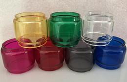 Canada Tube en verre de rechange coloré coloré de l'ampoule prolongée Fat Boy Pyrex pour le réservoir de Smok TFV8 Big Baby X 2 ml Offre