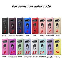 Caso de anel de armadura híbrida para samsung a10e a20e a10e para motorola moto g7 jogo g7 poder para lg k9 kickstand tampa do telefone d de Fornecedores de perfil do telefone