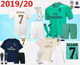 patchs de la ligue Promotion nouveau maillot de football 19/20 madrid HAZARD 2019 2020 REAL MADRID Ligue des Champions PATCHES maillot de football