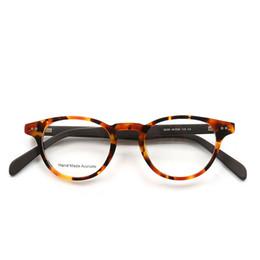 ef94fba67fa fashion prescription eyewear Coupons - Retro Round Eyewear Women Men  Handmade Optical Glasses For Sight Fashion