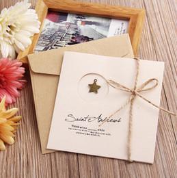 Tarjetas de felicitación diy online-Tarjeta de felicitación del día de Navidad Thanksgivinng 10 diseños DIY hecho a mano retro del metal Tarjeta de la enhorabuena de plegado para la invitación de boda fiesta de cumpleaños