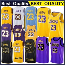 xxl kleid Rabatt Los Angeles 23 James LeBron Jersey Bryant 24 Kobe Sport im Freien Athletic Outdoor Apparel Hochwertige genähte Basketballtrikots