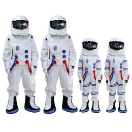 2019 trajes de mascote de tamanho infantil Adulto e tamanho de crianças traje da mascote do astronauta astronauta traje da mascote para festa de halloween dress outfit trajes de mascote de tamanho infantil barato