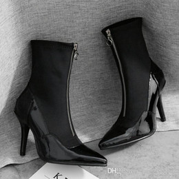 f5fd792e369 Wholesale Zip Front Ankle Boots - Buy Cheap Zip Front Ankle Boots ...