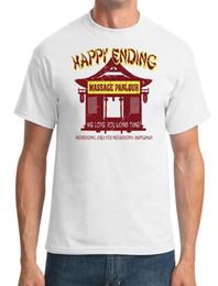 2019 massaggio amore Happy Ending Massage Parlor - We Love You Long Time - Mens T-Shirt giacca a vento per il bestiame Pug Tshirt Trump sudore sporter sconti massaggio amore