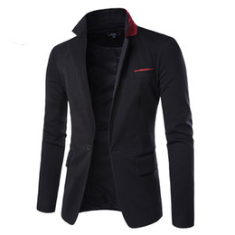 Professional summer dresses on-line-2016 Summer Style Luxury Business Casual Suit Men Blazers Set Professional Wedding formal bonito vestido