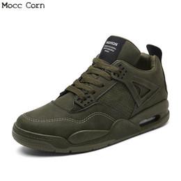 908a1c791e95 scarpe da tennis masculino da tennis Sconti Sneakers in vera pelle autunno inverno  uomo sneakers alte