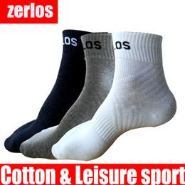 2019 chaussettes gris homme 3 paires / lot taille 40-43 zerlos marque chaussettes de haute qualité hommes coton chaussettes chaussettes noir blanc gris compression heureux hommes promotion chaussettes gris homme