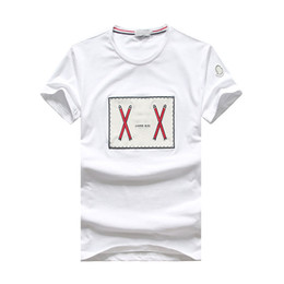 Новый летний модельер футболка мужчины футболки печати с коротким рукавом мужской повседневная тонкий уличная мужская хип-хоп топы Tee #5032 от