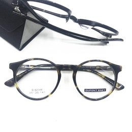 60abbf26a2f Vintage Round Spring Hinges Acetate Tortoise Eyeglass Frames Retro Fashion  Full Rim Glasses Rx Able